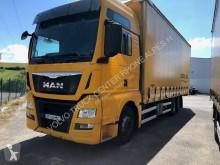 Lastbil MAN TGX 26.440 glidende gardiner brugt