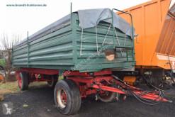 Remolque agrícola Esterer 2-Seiten-Kipper volquete con cortina usado