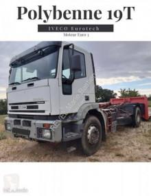 Teherautó Iveco Eurotech használt billenőplató