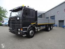 Camión caja abierta Scania 142