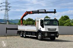 Ciężarówka platforma Iveco TRAKKER 360 Pritsche 6,80m+PK18002-EH/FUNK*6x4