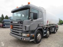 Scania 114/340 8x2*6 24.000 l. ADR truck used tanker