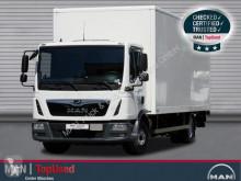 曼恩TGL卡车 12.250 4X2 BL, koffer, LBW, 7,1m, LGS 厢式货车 二手
