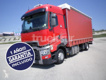 Camion centinato alla francese Renault T480 HIGH SLEEPER CAB