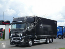 Mercedes ponyvával felszerelt plató teherautó ACTROS 2545/CURTAINSIDER-60M3/L:7,75M SPACE