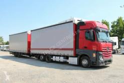 Kamion Mercedes ACTROS 2545, EURO 6, 6x2 + TRAILER PANAV, BPW posuvné závěsy použitý