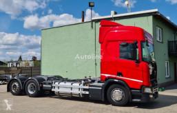 Camión portacontenedores Scania R450, 6x2 BDF, Euro 6 , RETARDER, Full Luft