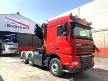 Camião DAF XF105 460 estrado / caixa aberta usado