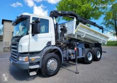 Scania billenőkocsi teherautó P340*2 STRONNA WYWROTKA + HDS HIAB XS 111 B-2 DUO