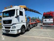 Camion MAN TGX TGX 35.540 8X2 Kran Palfinger Pk85002 + Remote plateau standard occasion