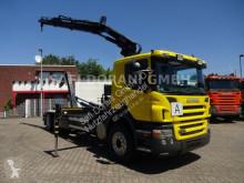 Scania LKW Abrollkipper P P 310 Abroller + HIAB 166 ES