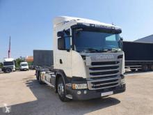 Scania konténerszállító teherautó G 490