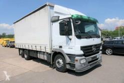 Mercedes tarp truck Actros ACTROS AHK Gardine+Edscha KLIMA Vorrichtung für