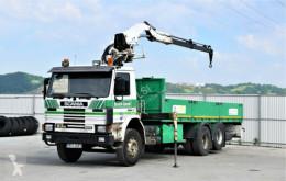 Camion cassone Scania H93 250 Pritsche 6,90m + PESCI PN - 120 !