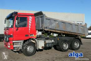Camión volquete volquete trilateral Mercedes Actros 2640 K Actros 6x4, Meiller, Kilma, 3 Pedale