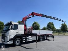 Camión caja abierta Volvo FM460 6X2/4 WITH HMF 3220 K7 CRANE KRAN EURO 6