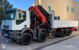 شاحنة Iveco 440 8X4 PALFINGER 100002+JIB منصة مستعمل
