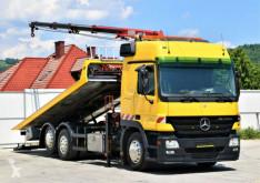 Camión portacoches Mercedes Actros 2541 Abschleppwagen 6,20m + HMK 132 HP !