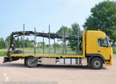 Camión maderero Volvo FM FM310 Palfinger Kran Plateau für Reet-Transporte