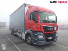 Camion MAN TGX 26.480 6X2-2 BL centinato alla francese usato