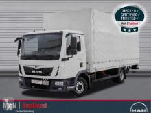 Camión lona corredera (tautliner) MAN TGL 8.190 BL-PRITSCHE PLANE-AHK-LBW-3SITZE-KLIMA