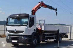 Camión Renault caja abierta usado