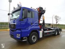 Camión MAN TGS 26.440 Gancho portacontenedor usado