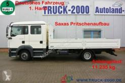 Camion plateau ridelles MAN TGL 8.180 Doppelkabine 2 x Anhängerkupplung 1.Hd