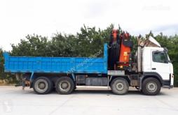 Camion Volvo 400 BASCULANTE VOLQUETE 8X4 PALFINGER 72002+JIB ribaltabile usato