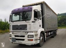 Camion MAN TGA 26.430 rideaux coulissants (plsc) occasion