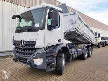 Mercedes three-way side tipper truck Arocs 3342 K 6x4 3342 K 6x4, Meiller Bordmatik links