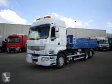 雷诺Premium卡车 ejes 6x2*4 双缸升举式自卸车 二手