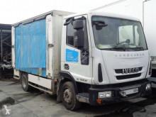 Camión Iveco Eurocargo ML 80 EL 18 lona usado