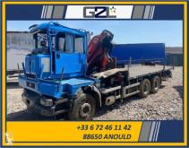 Camión caja abierta transportador de hierro Renault Kerax 380