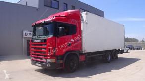 Camión frigorífico mono temperatura Scania 114 - 380 (FRIDGE NOT WORKING / / 8 TIRES / EURO )