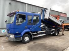 Renault Midlum használt darugémes/billenőplatós teherautó