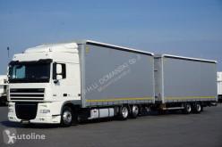Ciężarówka DAF / 105 / 460 / EURO 5 / Ate / RETARDER / ZESTAW PRZESTRZENNY120 + remorque rideaux coulissants firanka używana