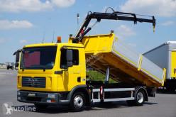 Ciężarówka MAN TGL / 10.240 / WYWROTKA + HDS / PRZEB. TYLKO 28 000 KM / JAK NO wywrotka używana