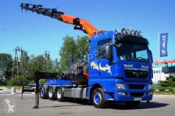 Camion plateau MAN TGX 35.540 8x4 Palfinger PK 50002 EURO 5 Kran