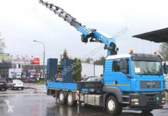 Camión caja abierta MAN 6x4x4 ALLRAD Spezial Seilwinde Montagekran