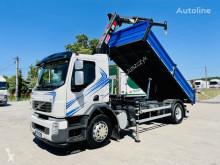 Ciężarówka Volvo FE FL FH FM 18.280 E5 kiper + kran , 4x2 Super stan ! wywrotka używana