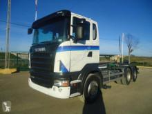 Lastbil Scania R 420 polyvagn begagnad