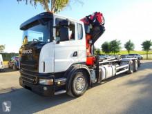 Lastbil Scania G 420 platta begagnad