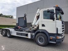Camión Gancho portacontenedor Scania R 114