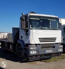 Camião Iveco Stralis 190 S 27 estrado / caixa aberta usado
