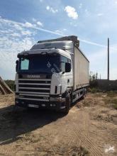 Caminhões cortinas deslizantes (plcd) Scania L 124L420