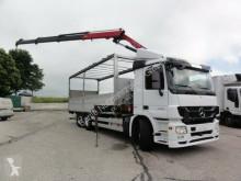 Camião Mercedes Actros Actros 2546L Euro 5 Retarder Kran HMF estrado / caixa aberta caixa aberta usado