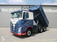 Camion benne Volvo FH FH 460 6x4, Eisel Alu Kipper, Plane, Klima, EUR6