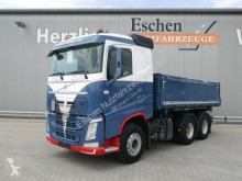Camion benne céréalière Volvo FH FH 460 6x4, Eisel Alu Kipper, Plane, Klima, EUR6