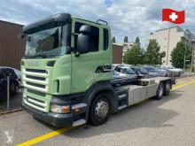 Camión Gancho portacontenedor Scania R Scania r480 6x2 hakengerät , hyalift typ 2065s